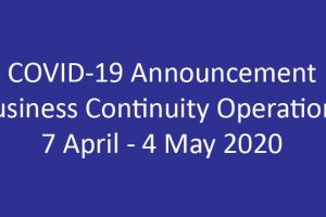 COVID-19-Announcement